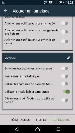 Sauvegarder ses fichiers sous Android (FolderSync) — Wiki de la mère
